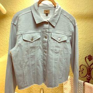 Ralph Lauren Cut-Off Light Wash Denim Jacket